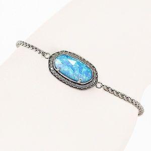 Kendra Scott Eve Ice Blue Kyocera Opal Bracelet